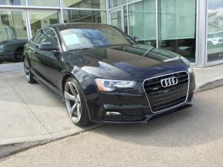 Used 2014 Audi A5 TECHNIK/ALL WHEEL DRIVE/NAVIGATION/HEATED SEATS/BACK UP CAMERA for sale in Edmonton, AB