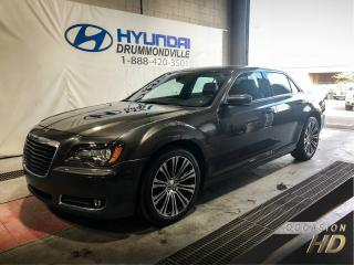 Used 2013 Chrysler 300 S + GARANTIE + MAGS + CUIR + BEATS AUDIO for sale in Drummondville, QC