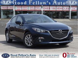 Used 2014 Mazda MAZDA3 GS MODEL, SKYACTIVE, SUNROOF, NAVIGATION for sale in North York, ON