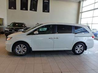 Used 2016 Honda Odyssey EX-L - Heated Leather, DVD, B/U+RightSide Cams + PWR Liftgate! for sale in Red Deer, AB