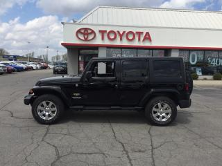 Used 2015 Jeep Wrangler Sahara for sale in Cambridge, ON