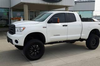 Used 2012 Toyota Tundra LIFTED / RIMS / 4X4 / 4DR / NO PAYMENTS FOR 6 MONS for sale in Tilbury, ON