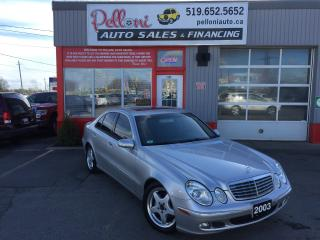 Used 2003 Mercedes-Benz E500 5.0L V8 LEATHER/SUNROOF/HEATED SEATS for sale in London, ON