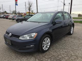 Used 2015 Volkswagen GOLF TDI * LEATHER * REAR CAM * DIESEL for sale in London, ON