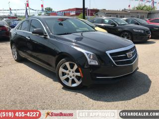 Used 2015 Cadillac ATS 2.0L Turbo Luxury | AWD | LEATHER | ROOF | NAV for sale in London, ON