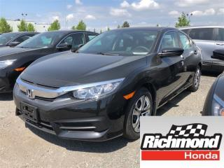 New 2018 Honda Civic LX for sale in Richmond, BC