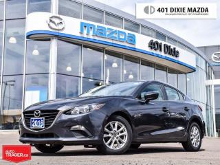 Used 2016 Mazda MAZDA3 GS,0.9% FINANCE AVAILABLE,ONE OWNER for sale in Mississauga, ON