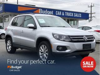 Used 2017 Volkswagen Tiguan Wolfsburg Edition, Low Kms, Leather Seating for sale in Vancouver, BC