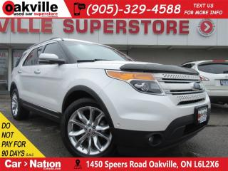 Used 2012 Ford Explorer Limited | LEATHER | PANO ROOF | 7 PASS | AWD | NAV for sale in Oakville, ON