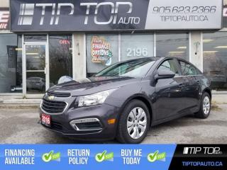 Used 2016 Chevrolet Cruze LT ** Remote Start, Bluetooth, Backup Camera ** for sale in Bowmanville, ON