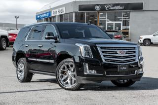 Used 2017 Cadillac Escalade Platinum Nav Roof  Pwr Boards for sale in Thornhill, ON