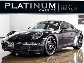 Used 2012 Porsche 911 Carrera S, 991, SPORT CHRONO, PDK, NAVI, RED LTHR for sale in North York, ON