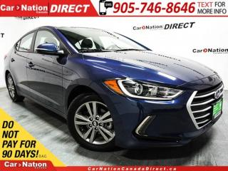 Used 2018 Hyundai Elantra SE  SUNROOF  BLIND SPOT DETECTION  for sale in Burlington, ON