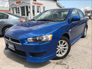 Used 2011 Mitsubishi Lancer SE|Accident Free|One Owner|Bluetooth for sale in Burlington, ON