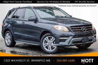 Used 2015 Mercedes-Benz ML-Class ML350 BlueTEC 4MATIC Premium P for sale in Winnipeg, MB