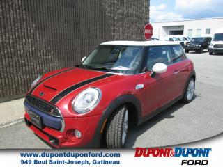 Used 2015 MINI Cooper Hardtop S for sale in Gatineau, QC