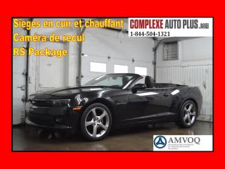 Used 2014 Chevrolet Camaro 2LT RS CONVERTIBLE for sale in Saint-jerome, QC