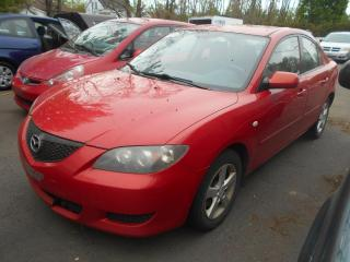Used 2006 Mazda MAZDA3 Berline 4 portes GX, for sale in Sorel-Tracy, QC