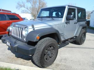 Used 2014 Jeep Wrangler SPORT for sale in Guelph, ON