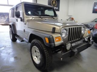 Used 2004 Jeep TJ Unlimited 4X4,6 CYL,VERY CLEAN for sale in North York, ON