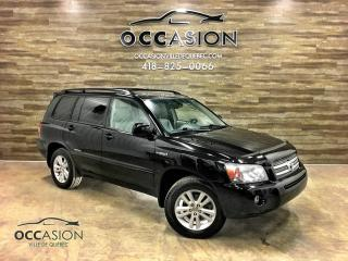 Used 2006 Toyota Highlander V6 Hybrid AWD Limited for sale in Ste-Brigitte-de-Laval, QC