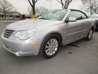 Used 2010 Chrysler Sebring TOURING CONVERTIBLE for sale in Dollard-des-ormeaux, QC