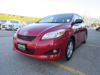 Used 2013 Toyota Matrix XR / AUTO / MOON ROOF / WELL MAINTAINED for sale in Newmarket, ON