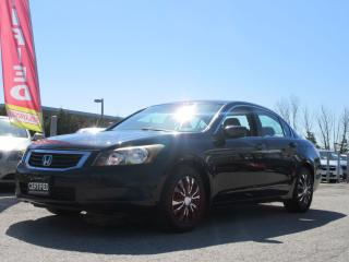 Used 2009 Honda Accord LX / ONE OWNER / ACCIDENT FREE / for sale in Newmarket, ON