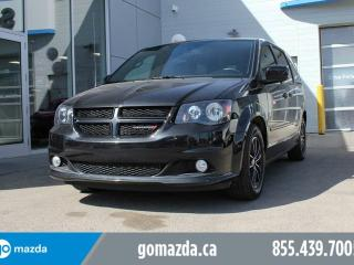 Used 2017 Dodge Grand Caravan GT LEATHER DVD HEATED SEATS BACKUP CAM for sale in Edmonton, AB