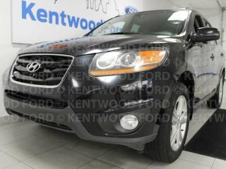 Used 2011 Hyundai Santa Fe AWD with heated seats and pretty rims for sale in Edmonton, AB