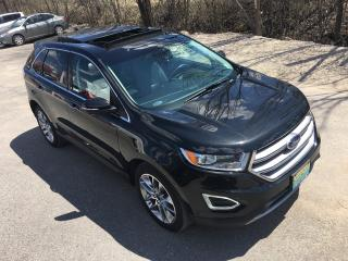 Used 2015 Ford Edge Titanium Only 53100 km for sale in Perth, ON