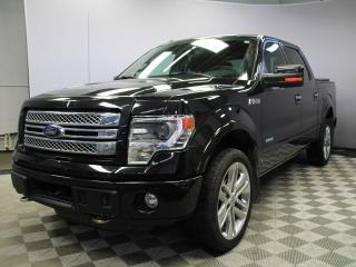 Used 2014 Ford F-150 Limited 4x4 SuperCrew - Local One Owner Trade In | Navigation | Back Up Camera | Parking Sensors | 2 Sets of Rims and Tires | 22 Inch Factory Wheels | Power Running Boards | Hitch | Box Cover | Factory Remote Starter | Heated/Cooled Front Seats | Heated R for sale in Edmonton, AB