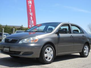 Used 2007 Toyota Corolla CE/ AUTO/ PW/PL/ ONTARIO CAR for sale in Newmarket, ON