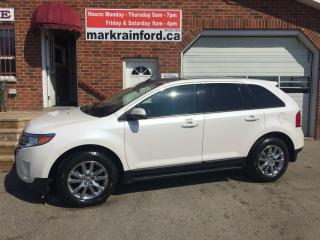 Used 2013 Ford Edge SEL Ecoboost Bluetooth, Leather Pano Roof Navi for sale in Bowmanville, ON