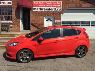 Used 2014 Ford Fiesta ST Turbo Recaros Bluetooth Nav Sunroof 6 spd for sale in Bowmanville, ON