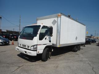 Used 2007 GMC 5500 AUTO 20 FT  CUBE BOX JAPAN ISUZU 4 CYLINDER ENGINE for sale in Oakville, ON