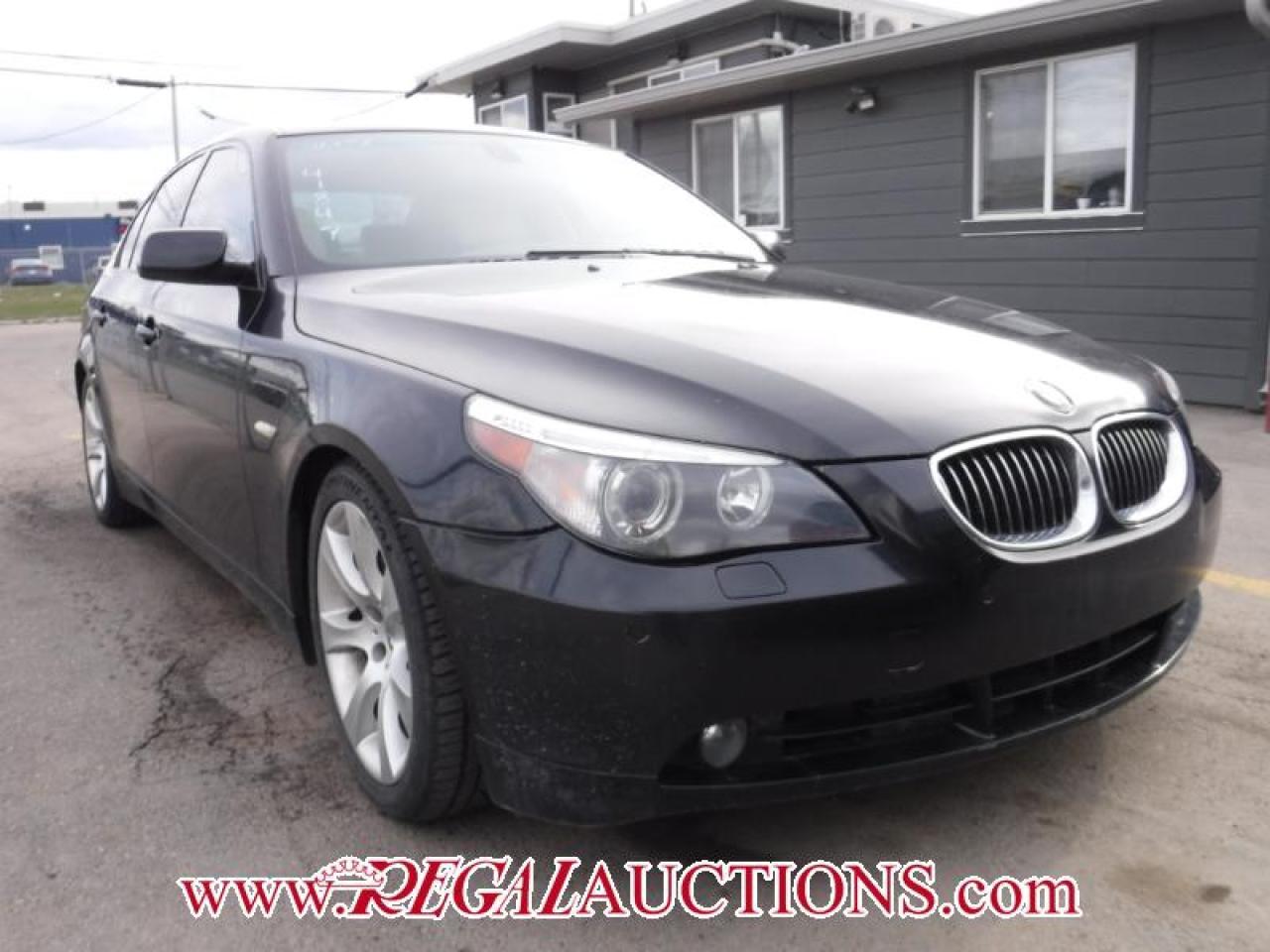 Photo of Black 2007 BMW 5 SERIES 550I 4D SEDAN