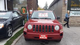 Used 2008 Jeep Patriot - 4x4 CERTIFIED for sale in Oshawa, ON