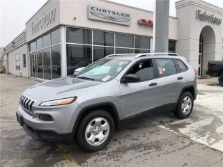 Used 2015 Jeep Cherokee Sport for sale in Burlington, ON