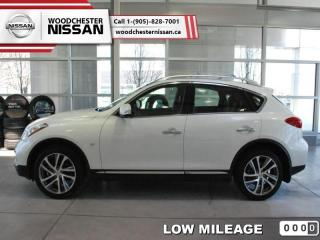 Used 2016 Infiniti QX50 Base  - $269.24 B/W - Low Mileage for sale in Mississauga, ON