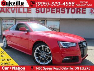 Used 2016 Audi S5 3.0T Technik plus | LEATHER | PANO ROOF | NAV for sale in Oakville, ON