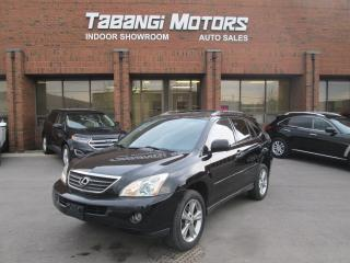 Used 2006 Lexus RX 400h HYBRID   NAVIGATION   NO ACCIDENT   LEATHER   SUNROOF for sale in Mississauga, ON