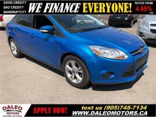 Used 2013 Ford Focus SE| BLUETOOTH| HEATED SEATS| SUNROOF for sale in Hamilton, ON