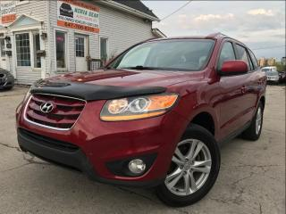 Used 2011 Hyundai Santa Fe GL Sport|Leather|Sunroof|Bluetooth|One Owner for sale in Burlington, ON