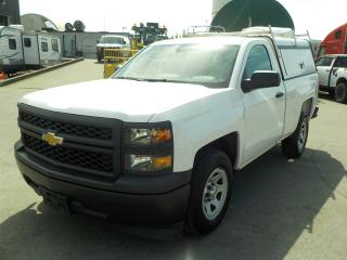 Used 2014 Chevrolet Silverado 1500 Regular Cab Regular Box 2WD with Service Canopy for sale in Burnaby, BC