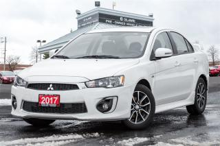 Used 2017 Mitsubishi Lancer SE Limited CVT for sale in Mississauga, ON