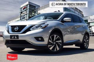 Used 2015 Nissan Murano Platinum AWD CVT Accident Free| Remote Start| 360 for sale in Thornhill, ON