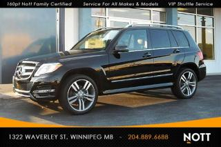 Used 2013 Mercedes-Benz GLK-Class 350 4MATIC Moon Roof for sale in Winnipeg, MB