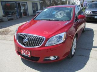 Used 2013 Buick Verano POWER EQUIPPED 'SHARP' 5 PASSENGER 2.4L - DOHC.. LEATHER.. TOUCH SCREEN.. BACK-UP CAMERA.. POWER SUNROOF.. BLUETOOTH SYSTEM.. for sale in Bradford, ON