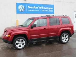 Used 2014 Jeep Patriot LIMITED 4X4 - LEATHER for sale in Edmonton, AB